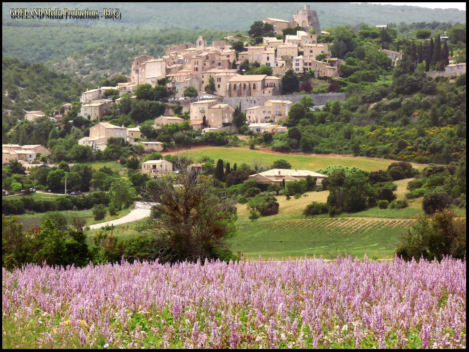 SIMIANE la ROTONDE ( Alpes de Hte Provence ) - rotonde  romane - luberon