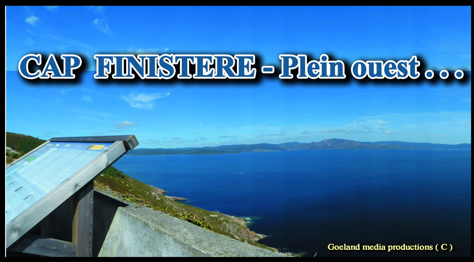 CABO-FISTERA ( Galicia - Espana ) - Fin du cjemin de saint jacques de Compostelle