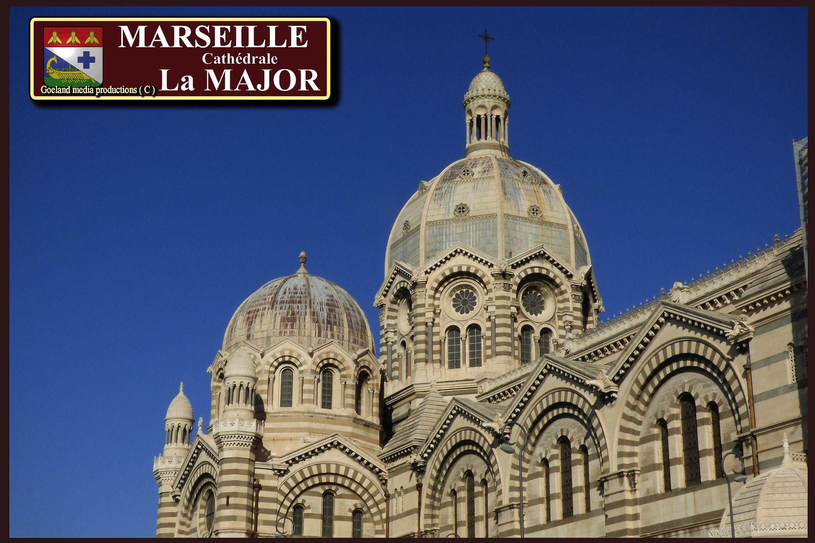 Marseille Cathédrale La MAJOR ( Bouches du Rhône ) région SUD - PACA
