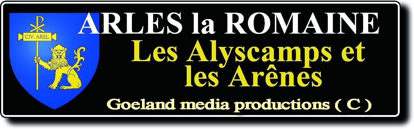 BLASON d'ARLES ( Région SUD - PACA ) - port et ville romaine - bj(c) photos - region SUD