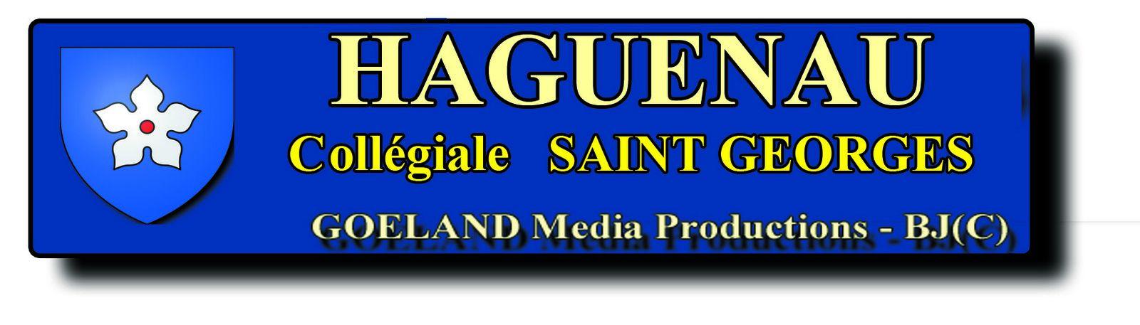 Collégiale Saint Georges de HAGUENAU - Photos BJ(c) - Alsace - région Gd Est