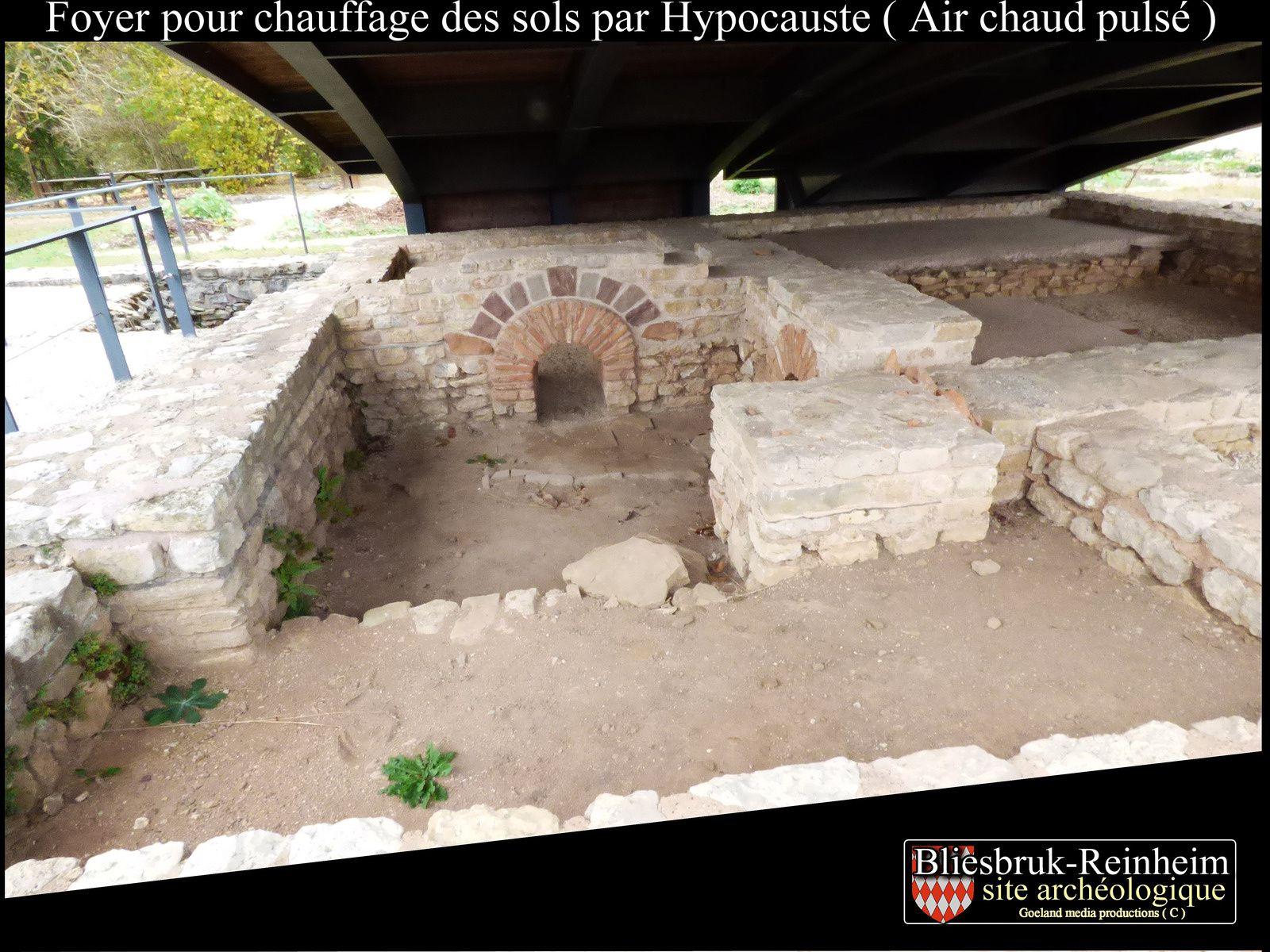 Fouille du VICUS ROMAIN - Bliesbruck - ville romaine - vallée de la Blies