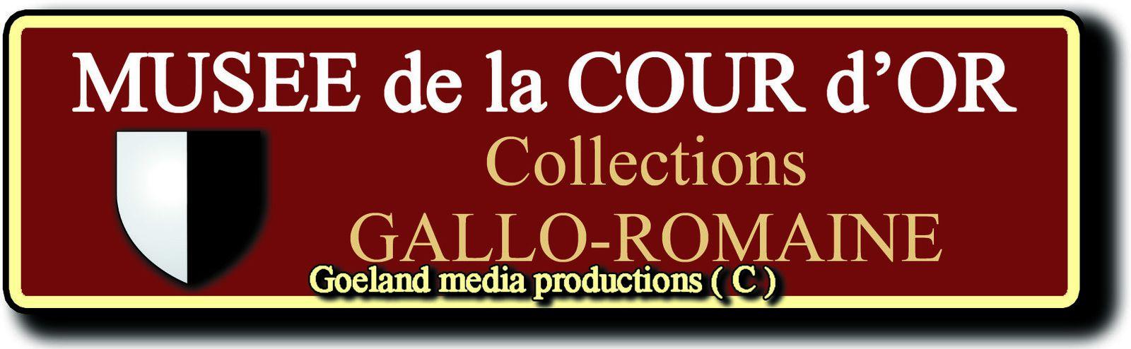 Musée de la COUR d'OR - METZ ( Lorraine ) - COLLECTIONS ARCHEOLOGIQUES gallo-romaines - Gd Est