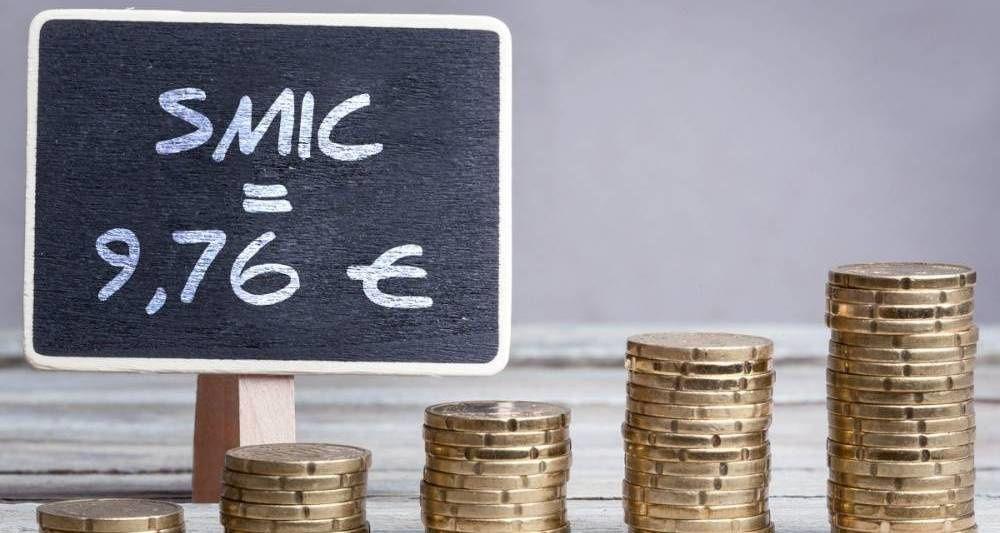 Le SMIC à 9,76€ en 2017.