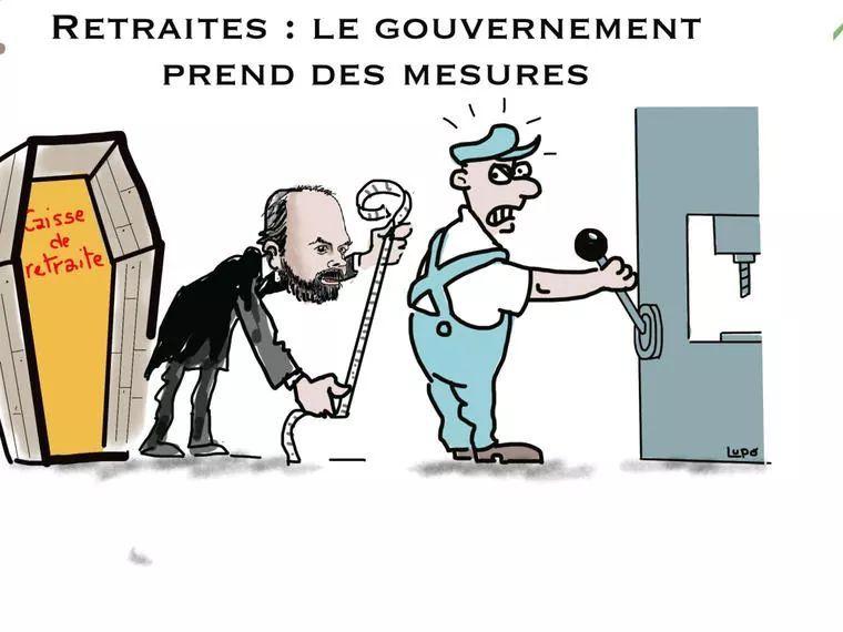 RETRAITES : Le gouvernement prend des mesures !