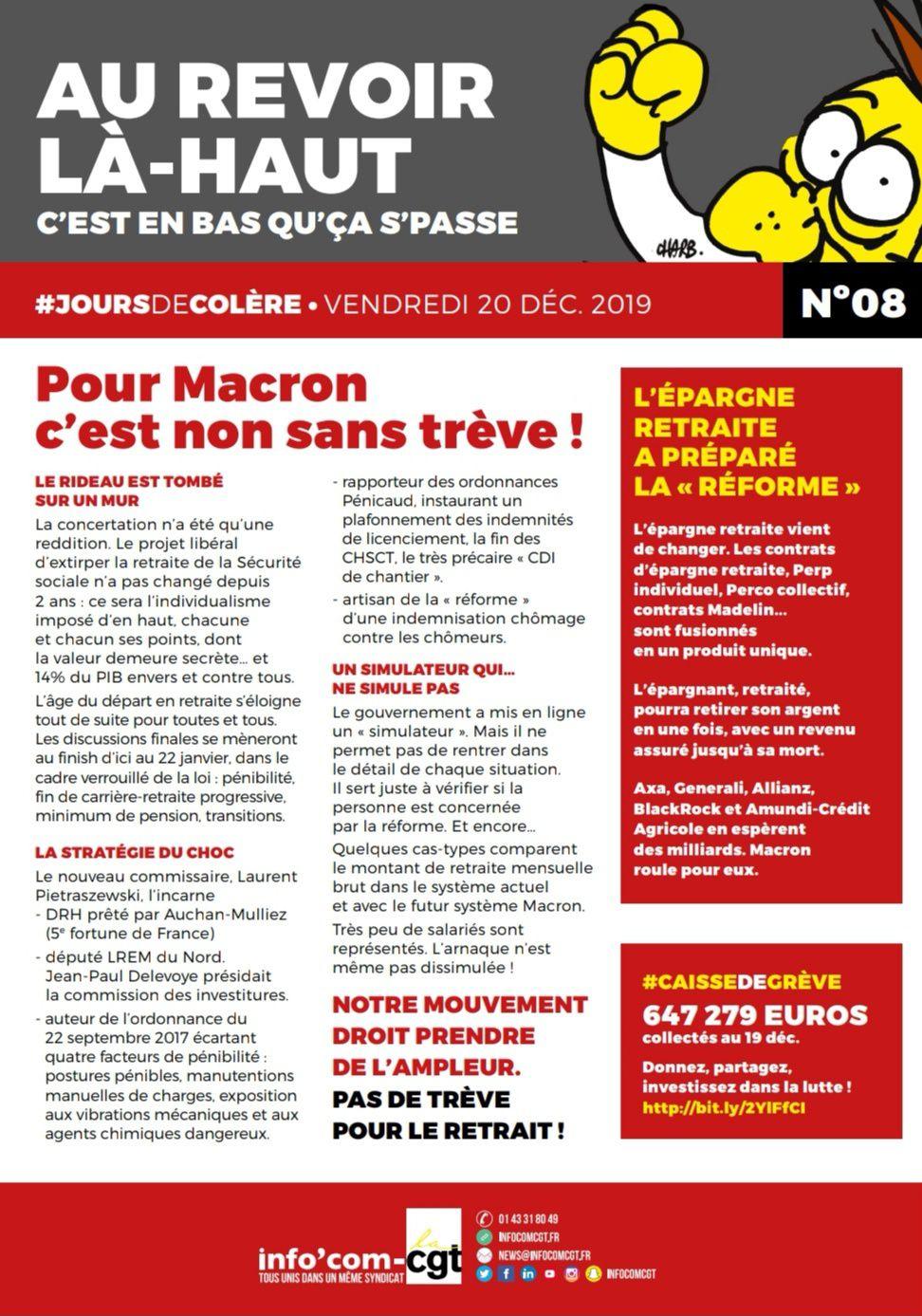 AU REVOIR LÀ-HAUT C'EST EN BAS QU'ÇA S'PASSE ▪️VENDREDI 20 DÉC 2019 - N°08