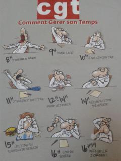"""CGT : """"Comment Gérer son Temps"""""""