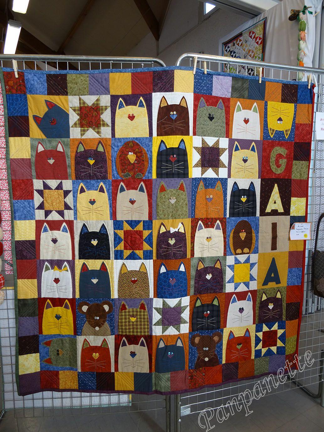 Exposition de patchwork à Douvres