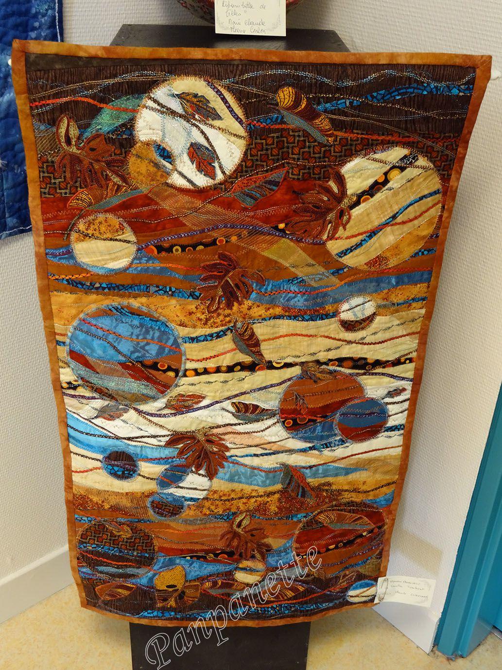 Exposition de patchwork à Carpiquet