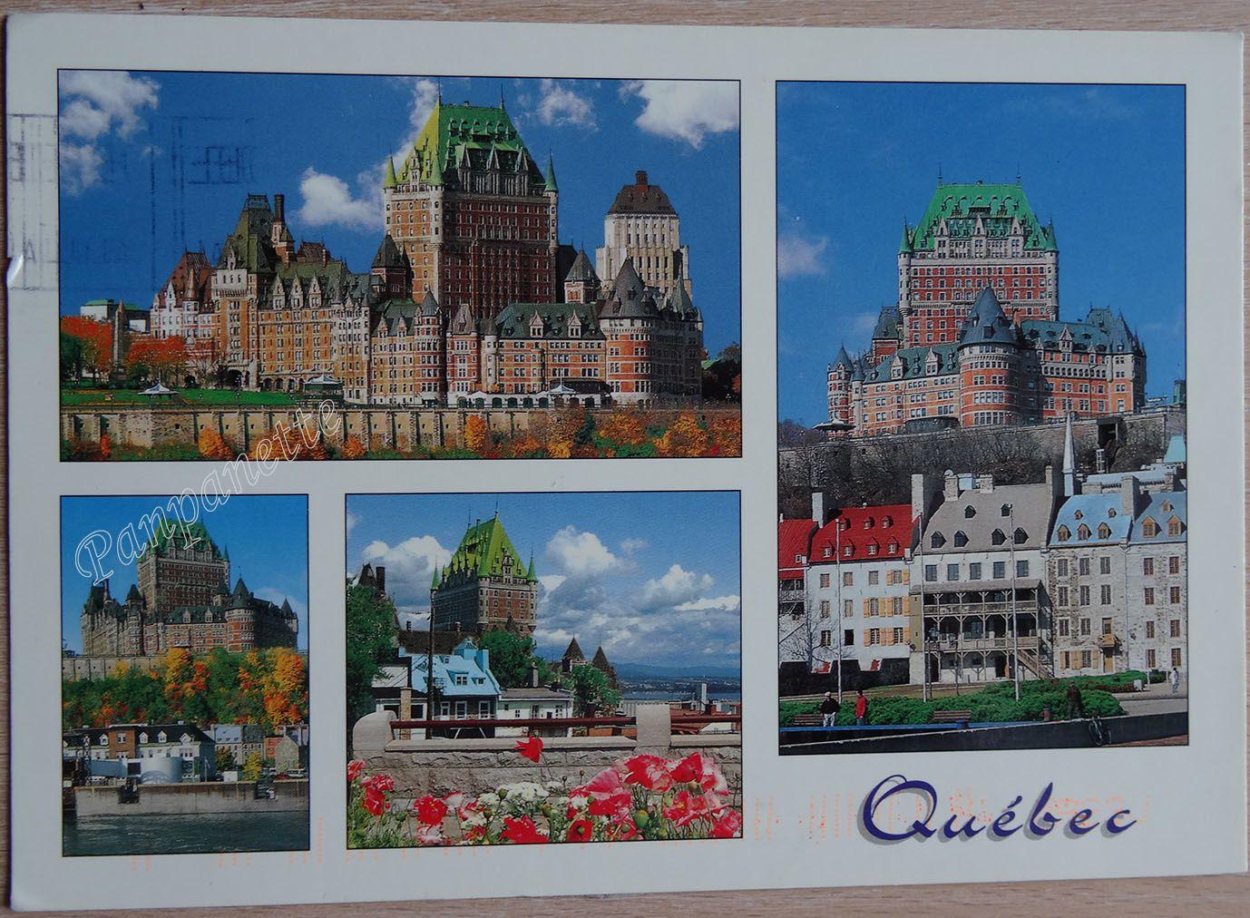 Reçue du Canada (Québec)