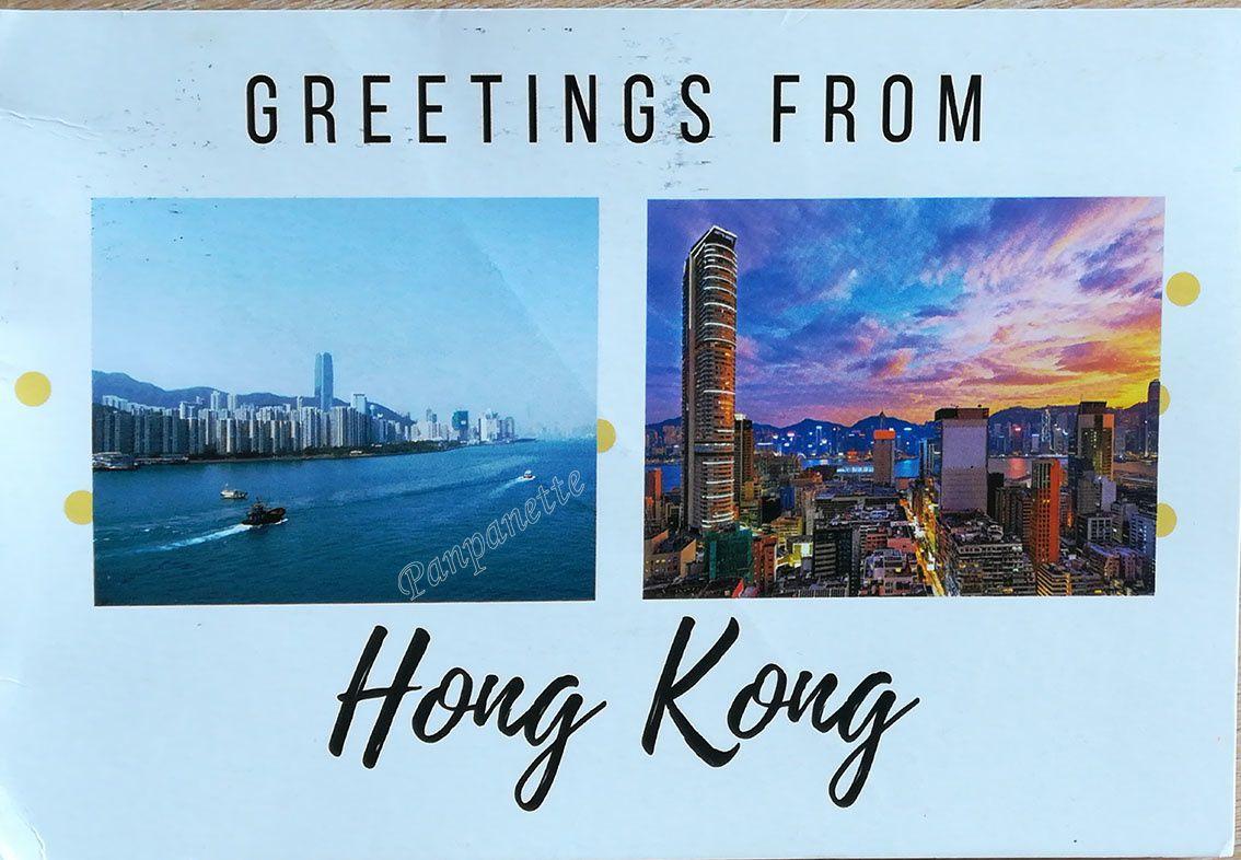 Carte reçue de Hong-Kong