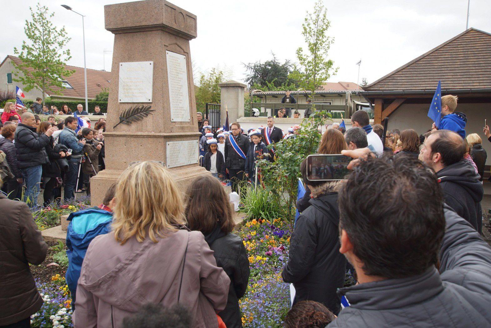Retour sur la cérémonie commémorative du 8 mai 1945
