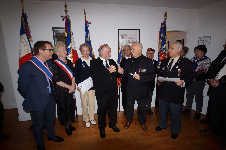 7 avril 2018 à l'Union Nationale des Combattants : hommage, émotions et décorations