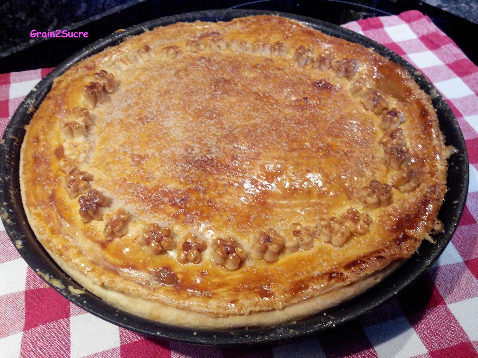 Grain2Sucre. Recette Apple Pie aux pommes. Farine, beurre, pommes, cannelle...