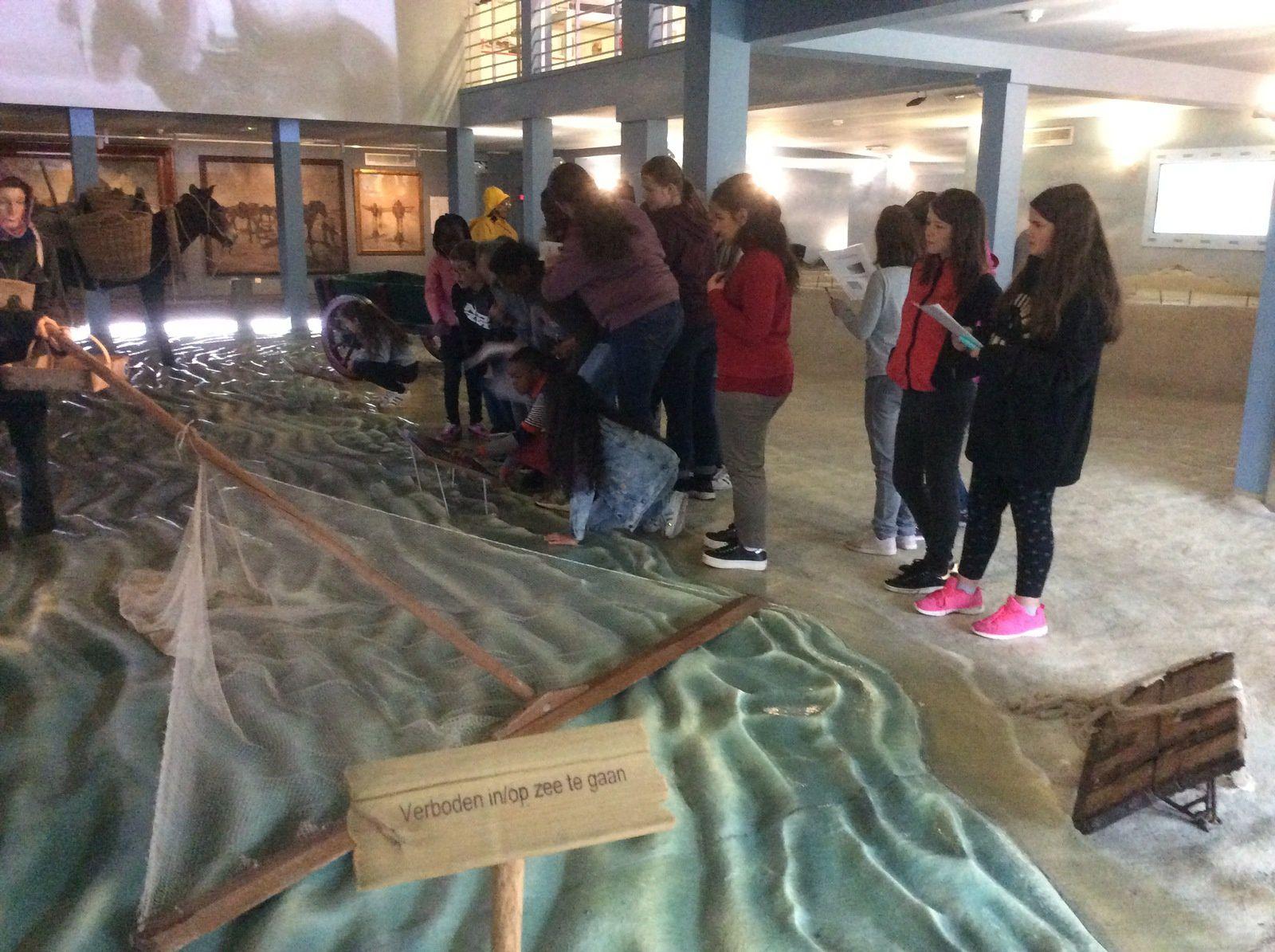 Le musée de la pêche. Les élèves ont trouvé cette visite très intéressante.