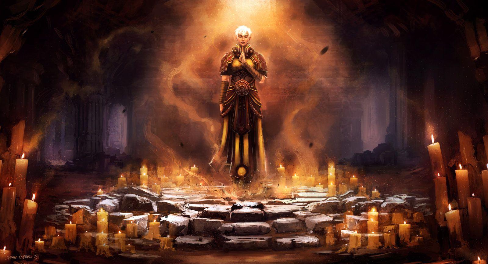 Les classes de Diablo III font dans le très classique, Barbare, Moine, Sorcier, Paladin, Chasseur de démon biberonné à John Who et le Féticheur vaudou que j'aime beaucoup. Du classique, très classique, mais ça permet de convoquer des figures archétypales qui sont familières.