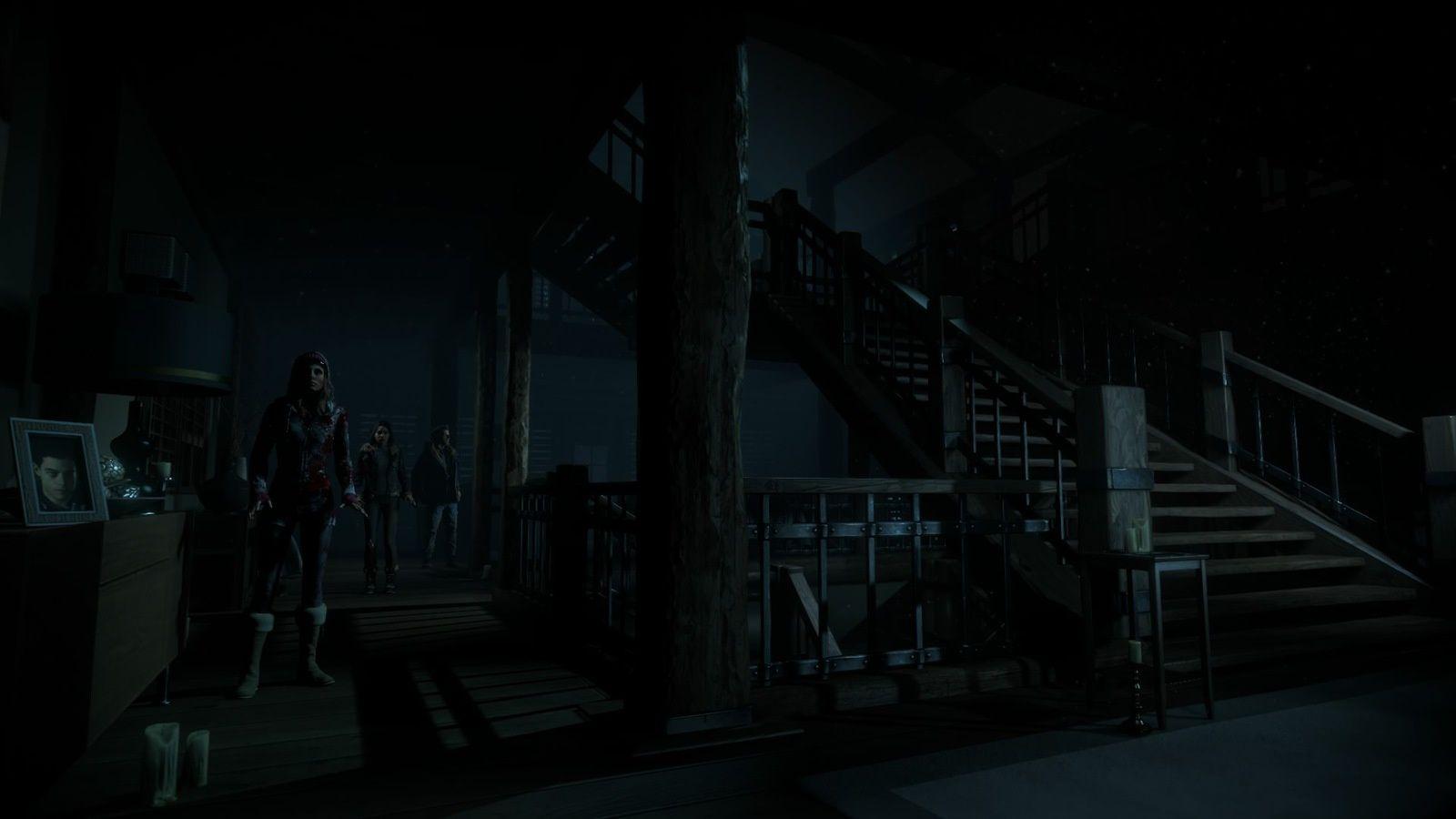 Until Dawn est vraiment une bonne expérience de jeu. La trame narrative évoluant en fonction de vos choix, n'allez pas penser que les images présentes ici représentent nécessairement l'expérience que vous ferez de cette aventure.