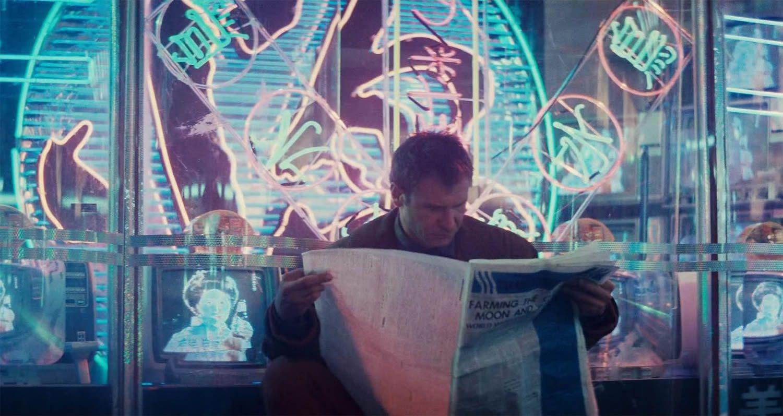 Avec le passage du temps toutes les images de Blade Runner deviennent icôniques du genre