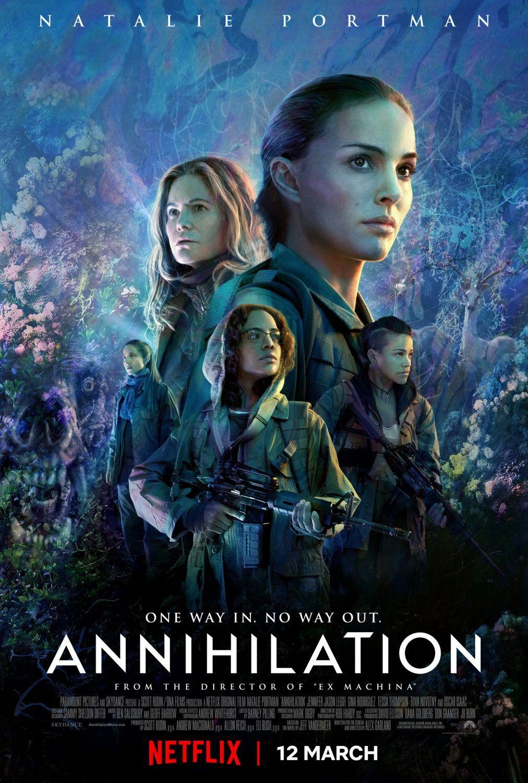 Annihilation – Netflix – Critique du film d'Alex Garland avec Natalie Portman
