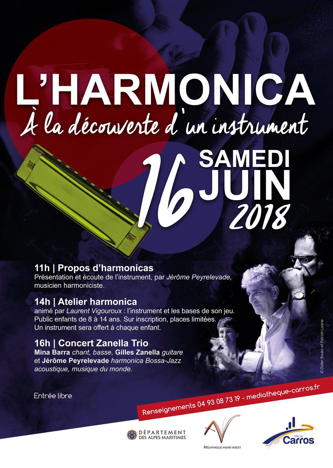 Journée spéciale Harmonica à Carros le 16 juin !