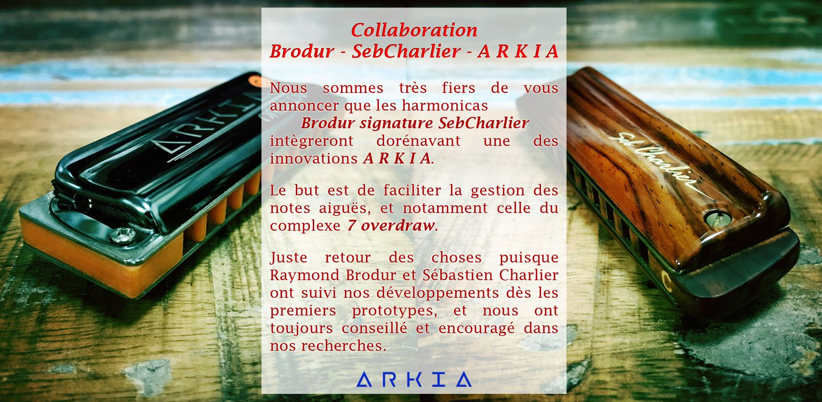 Collaboration Brodur-SebCharlier-ARKIA