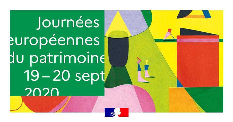 Visuel des Journées Européennes du Patrimoine 2020 (© Ministère de la Culture / Jérémie Fischer).