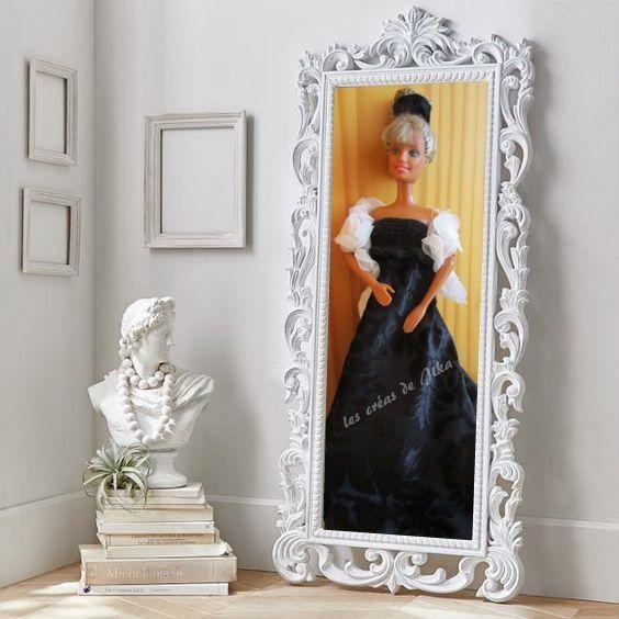 Robe de soirée noire pour Barbie