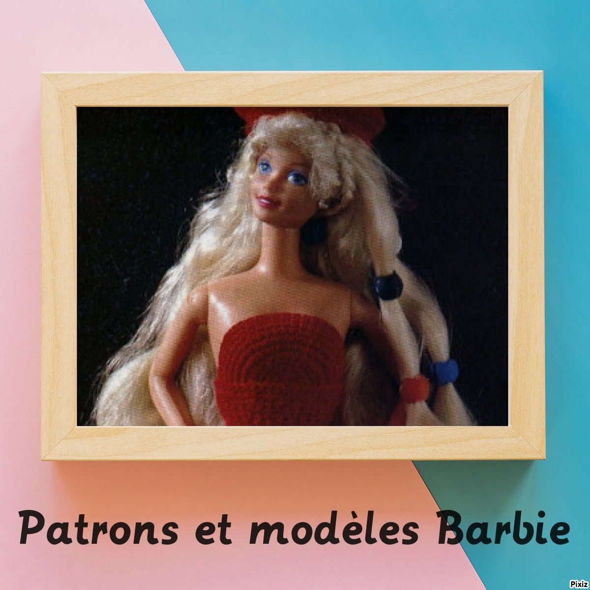 robe au crochet Barbie