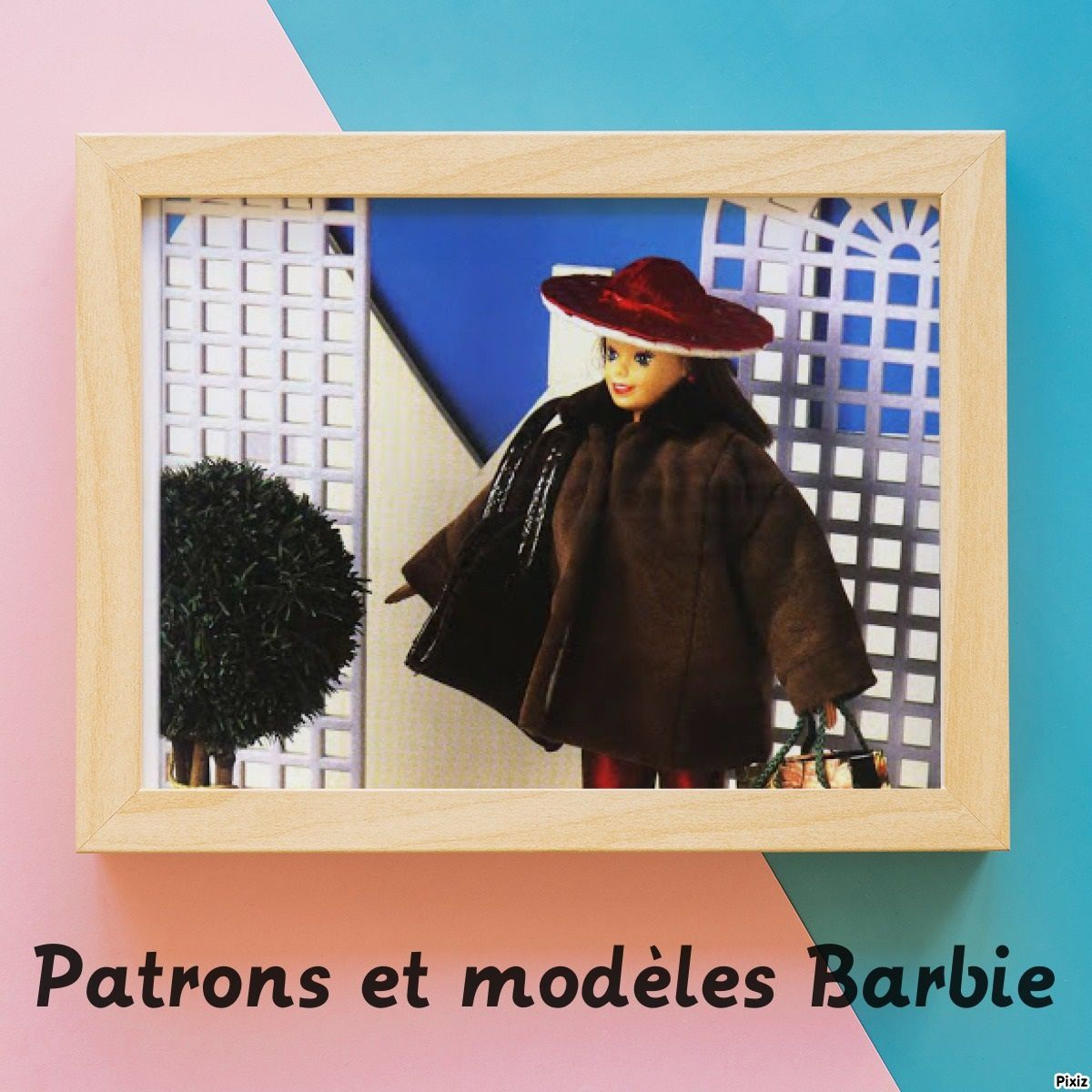 Manteau barbie patron gratuit