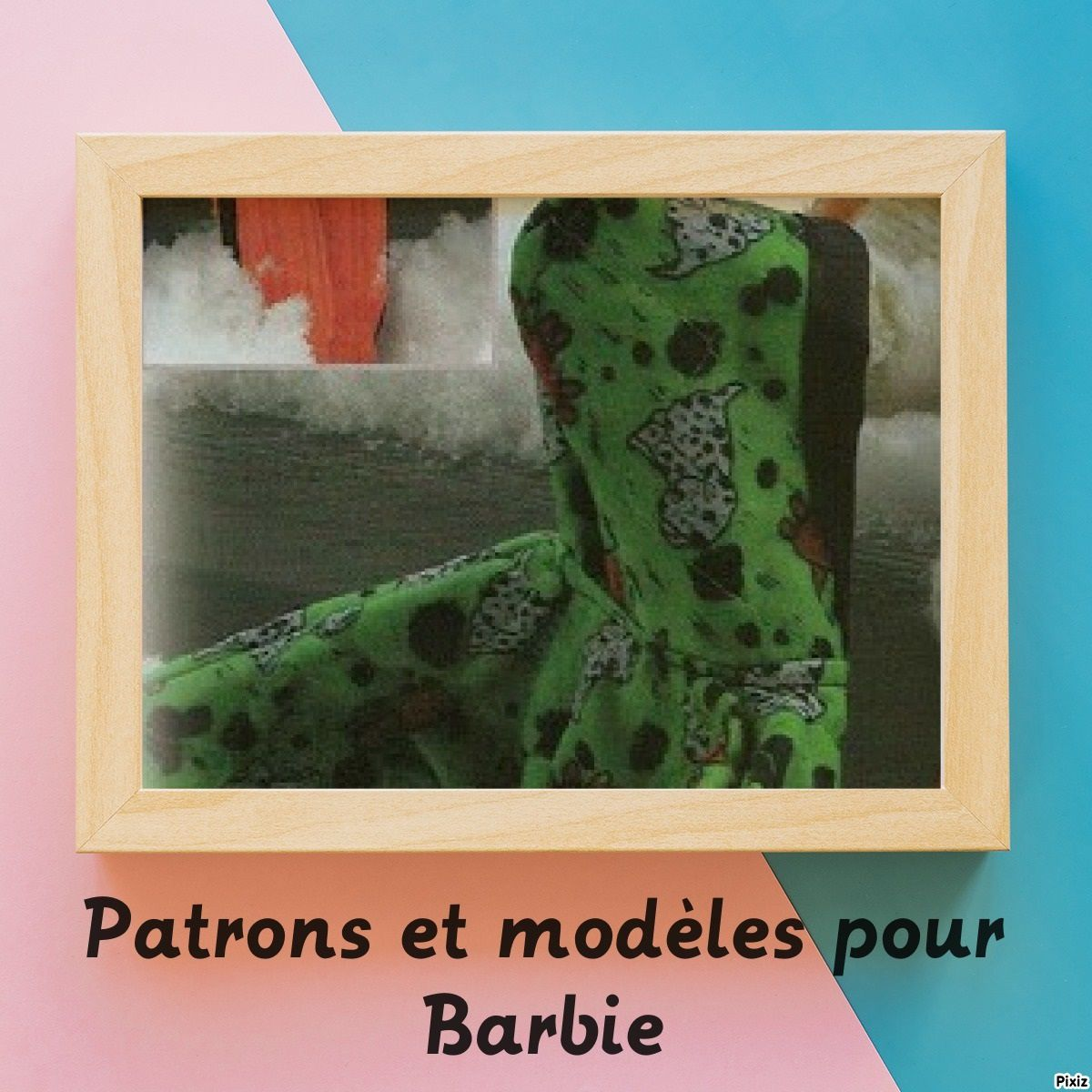vêtement barbie : manteau