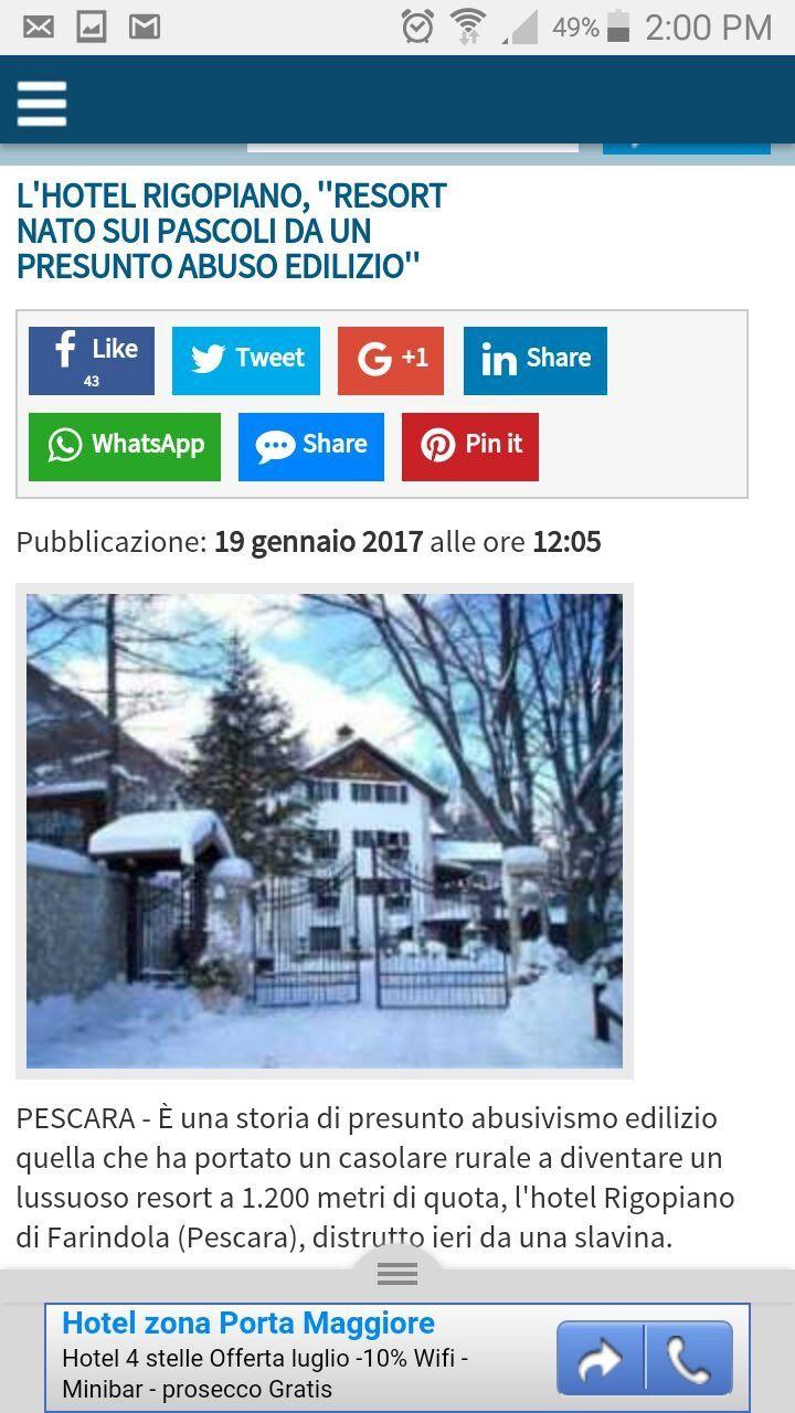 Trema la terra nella neve ferma. Come l'Italia senza prevenzione.
