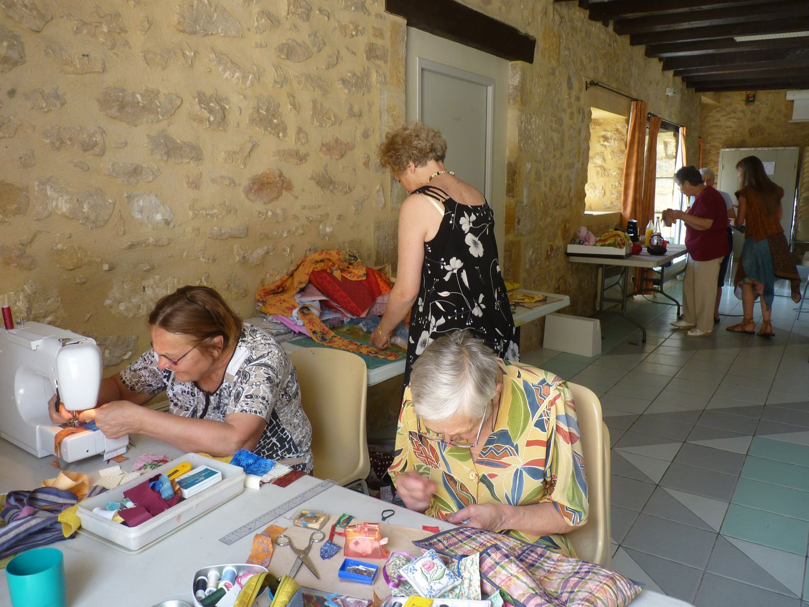 Atelier Point et Patch