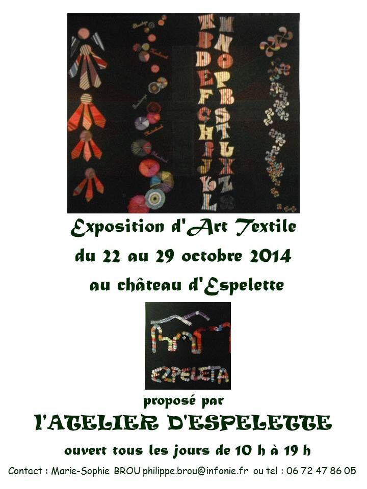 Exposition Art Textile Espelette