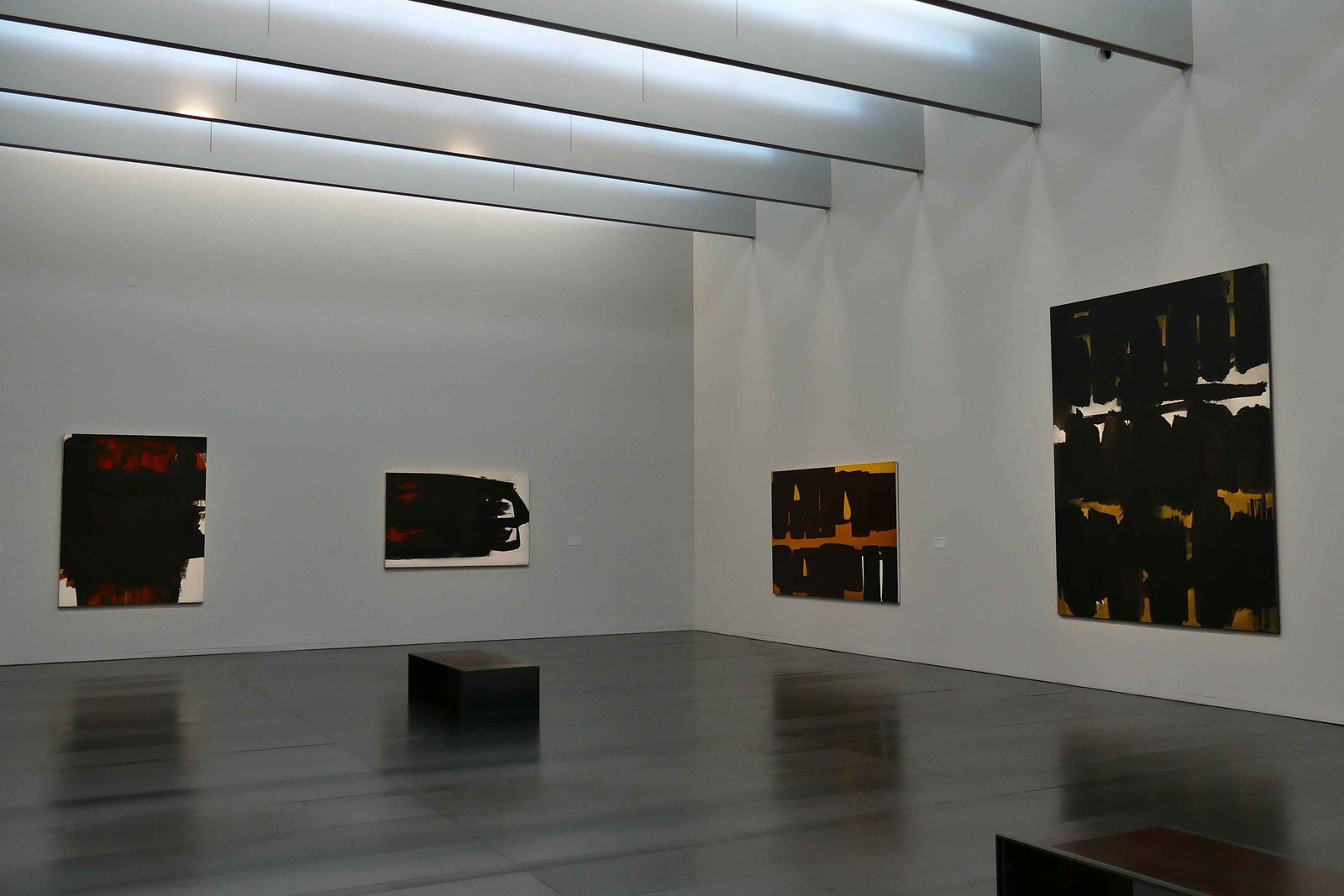 Pierre Soulages photos R.Levaché