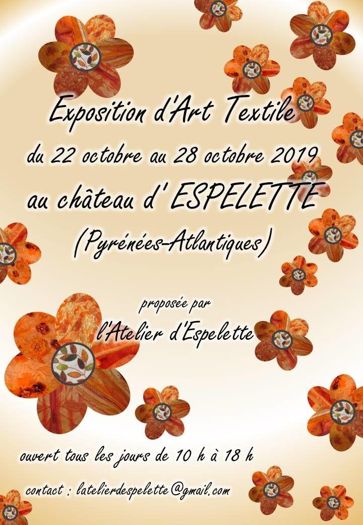 Exposition Art textile Espelette 2019