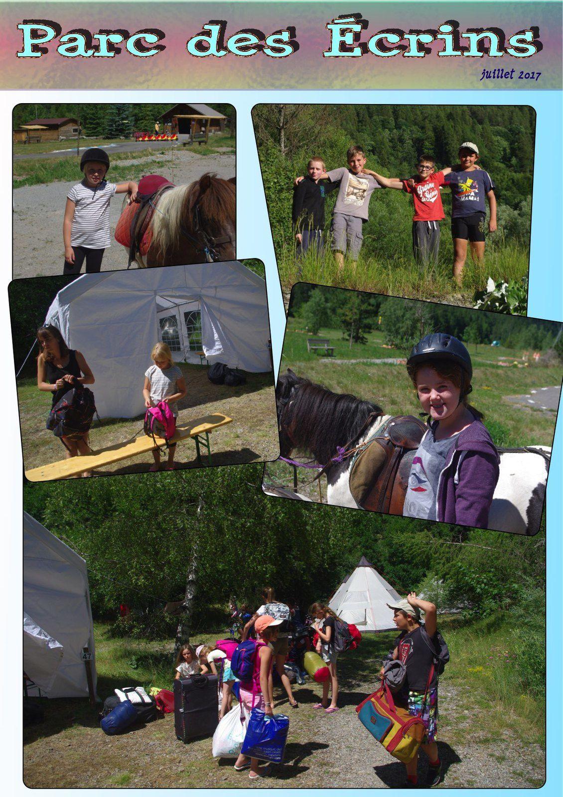 Les aventures des Enfants au Camping