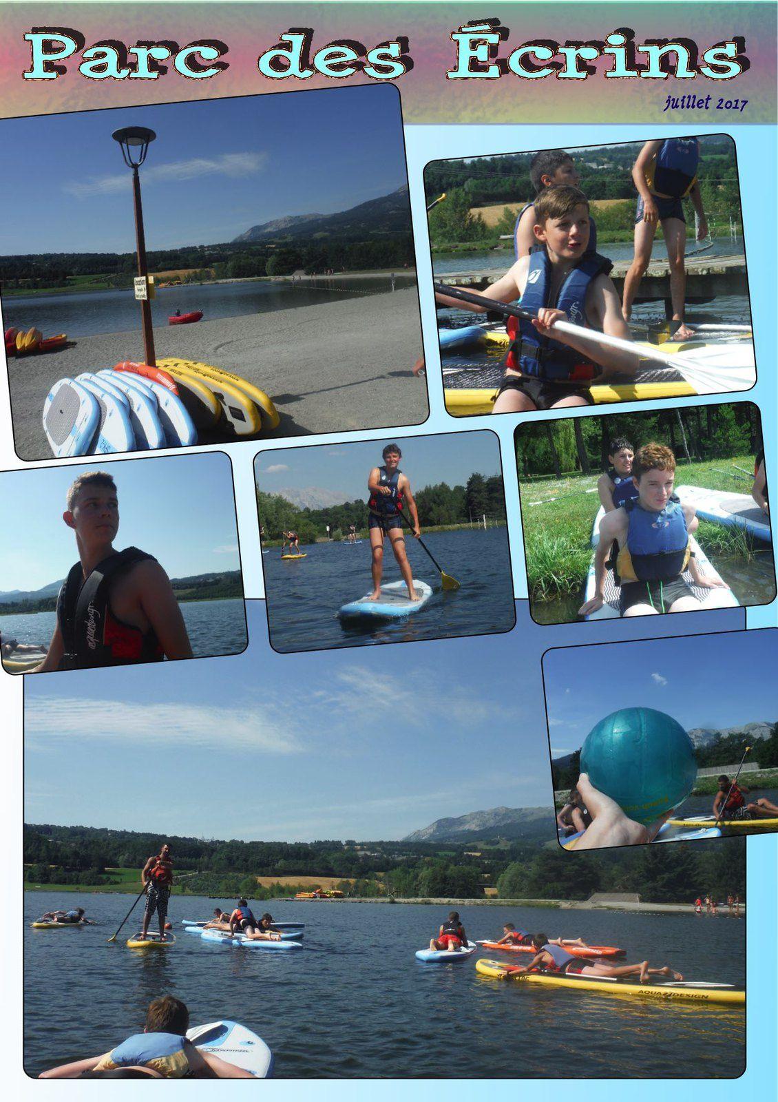 Les Préados au plan d'eau de St Bonnet - Baignades, jeux, Paddle