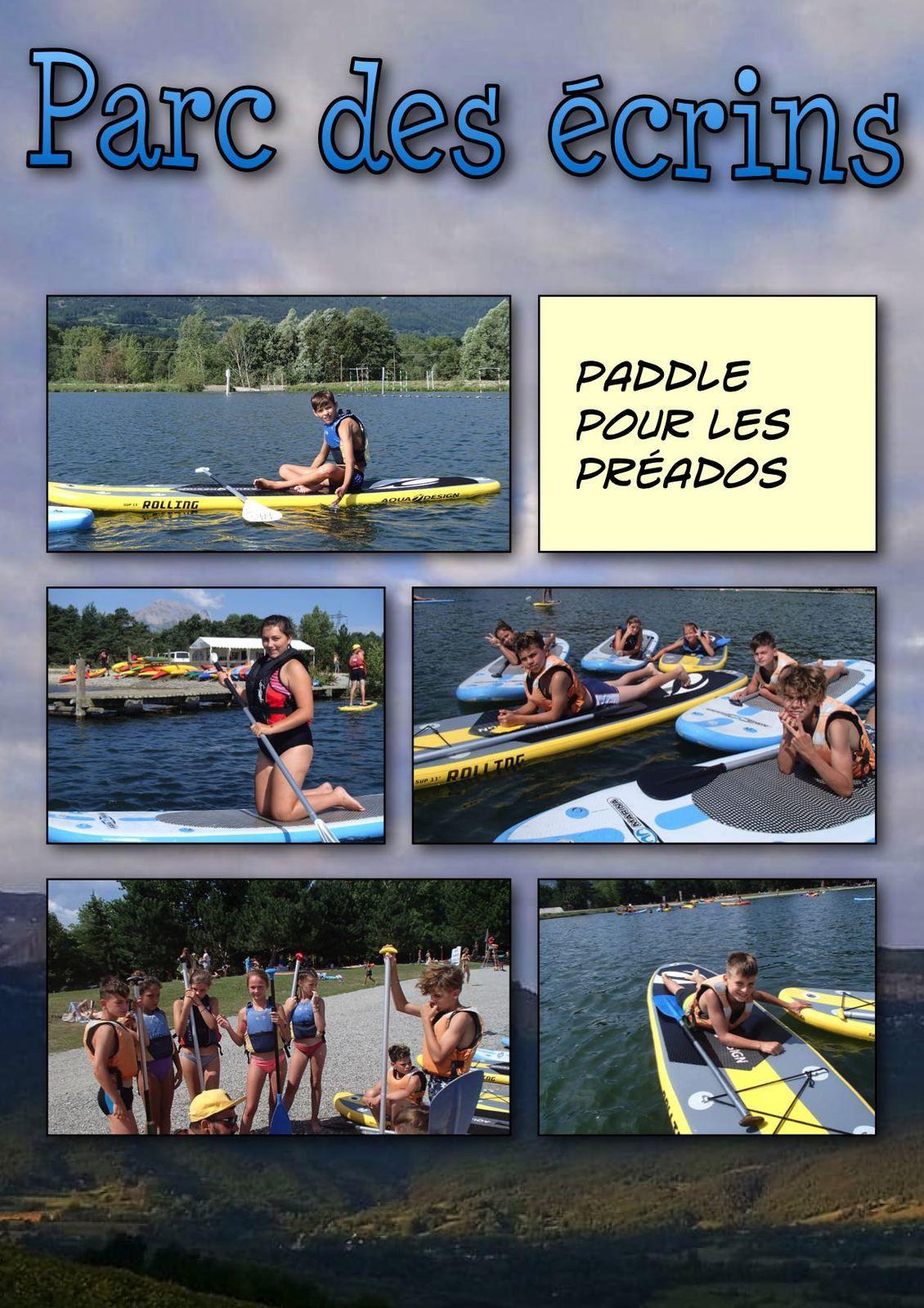 Paddle pour les préados !