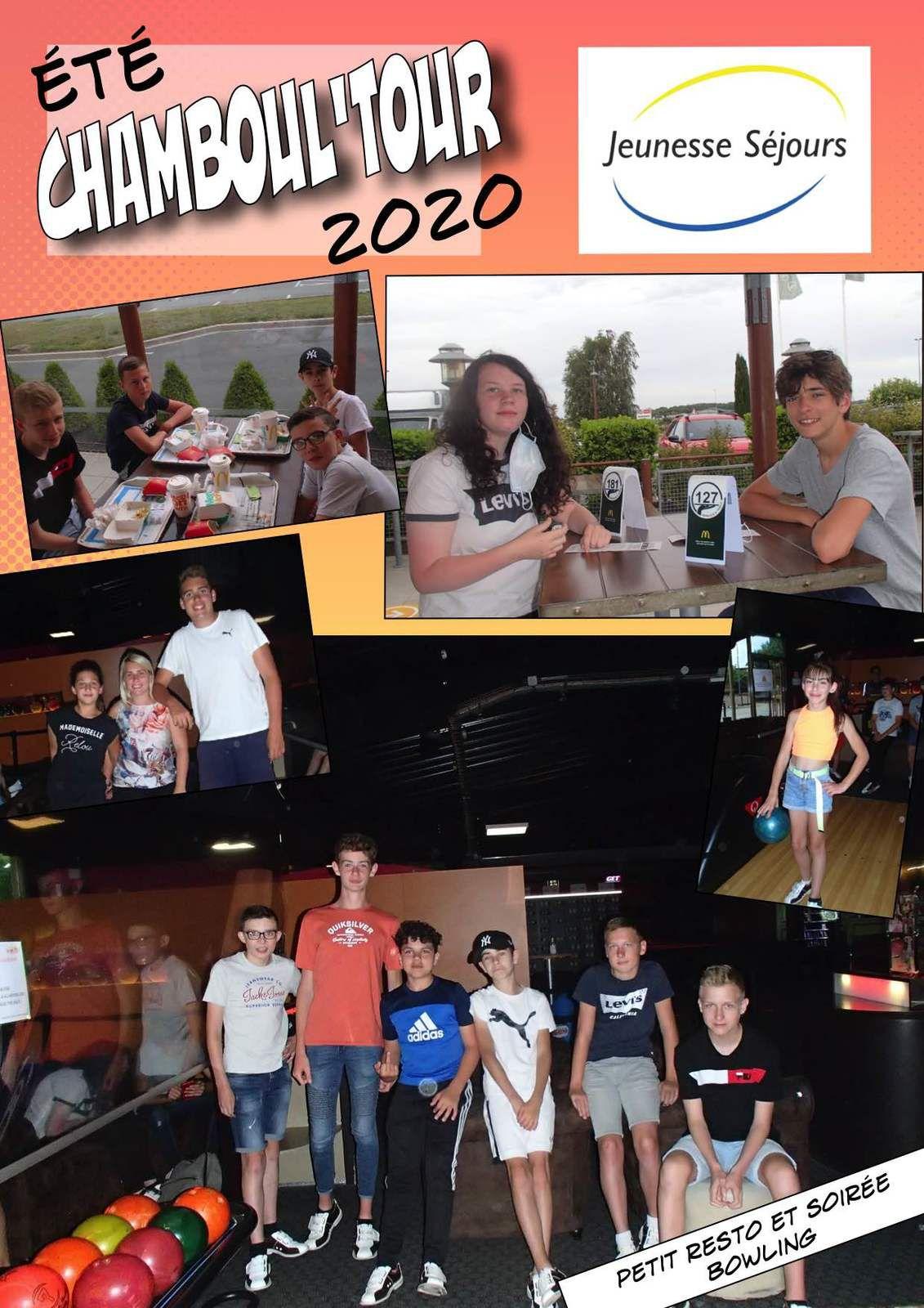 Chamboul'Tour en soirée Resto-Bowling