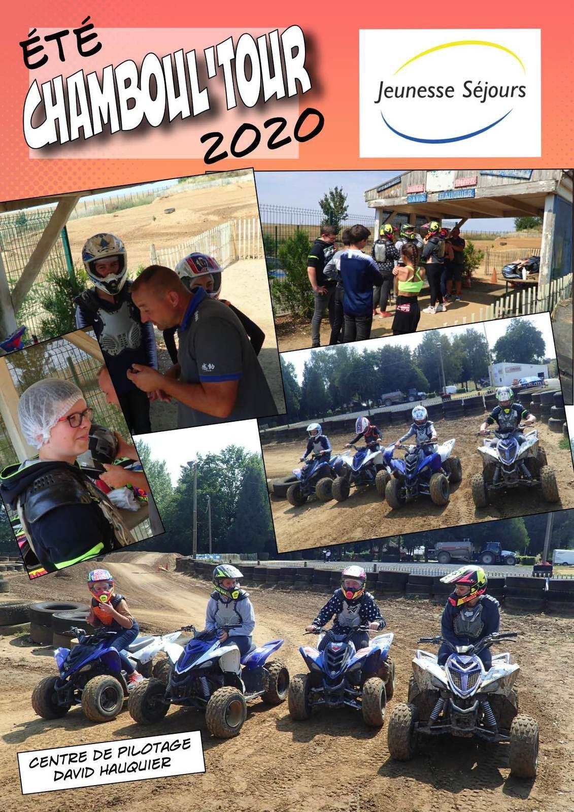 Chamboul'Tour au Quad et au chaud