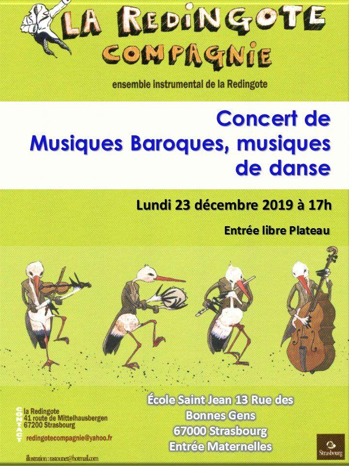 Concert Musique Baroques - Musiques de Danse