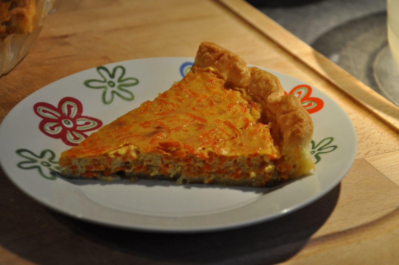 Tarte gruyère- carottes et savora