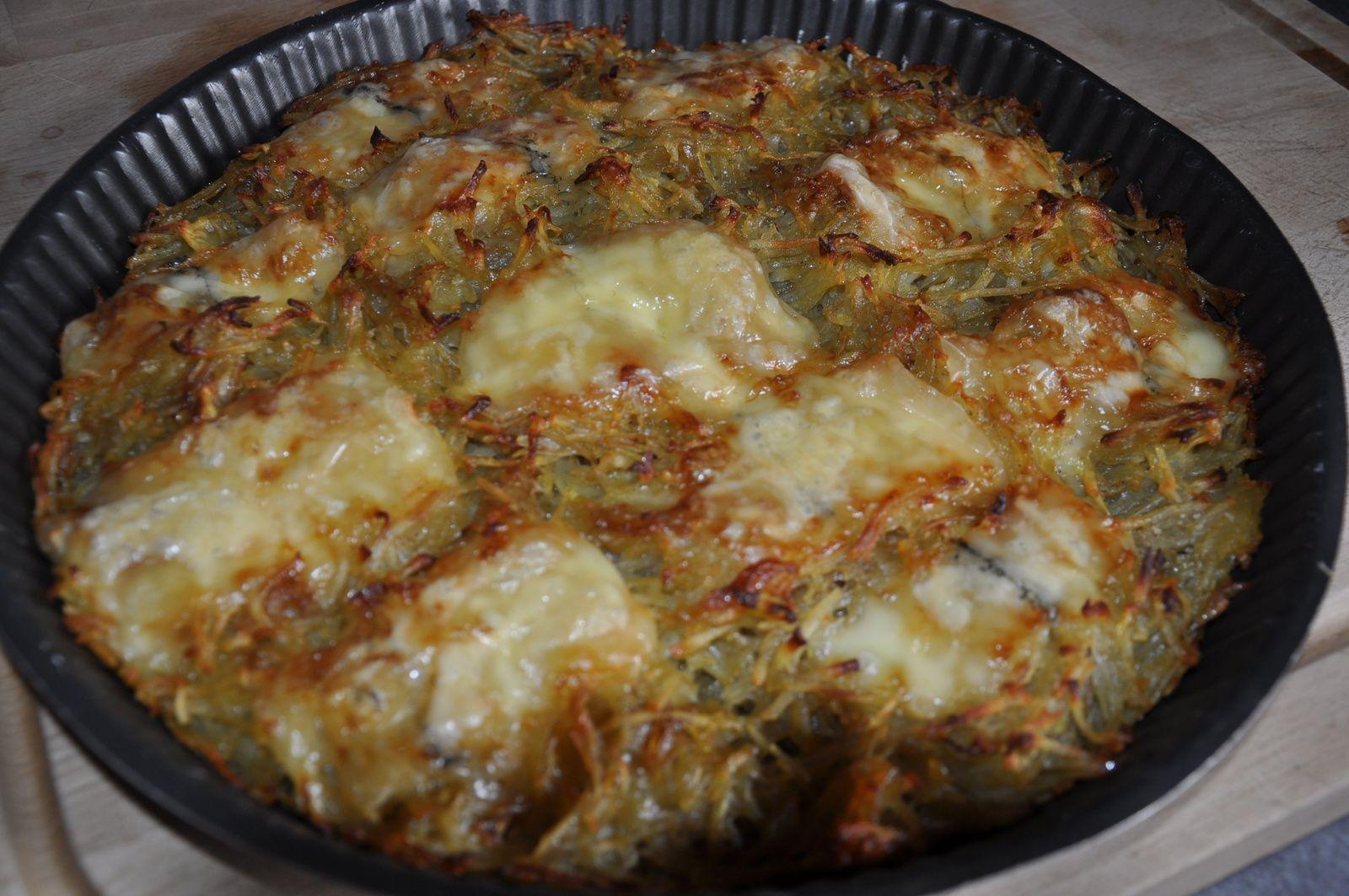 Tortilla géant à ma façon ( sans oeufs)
