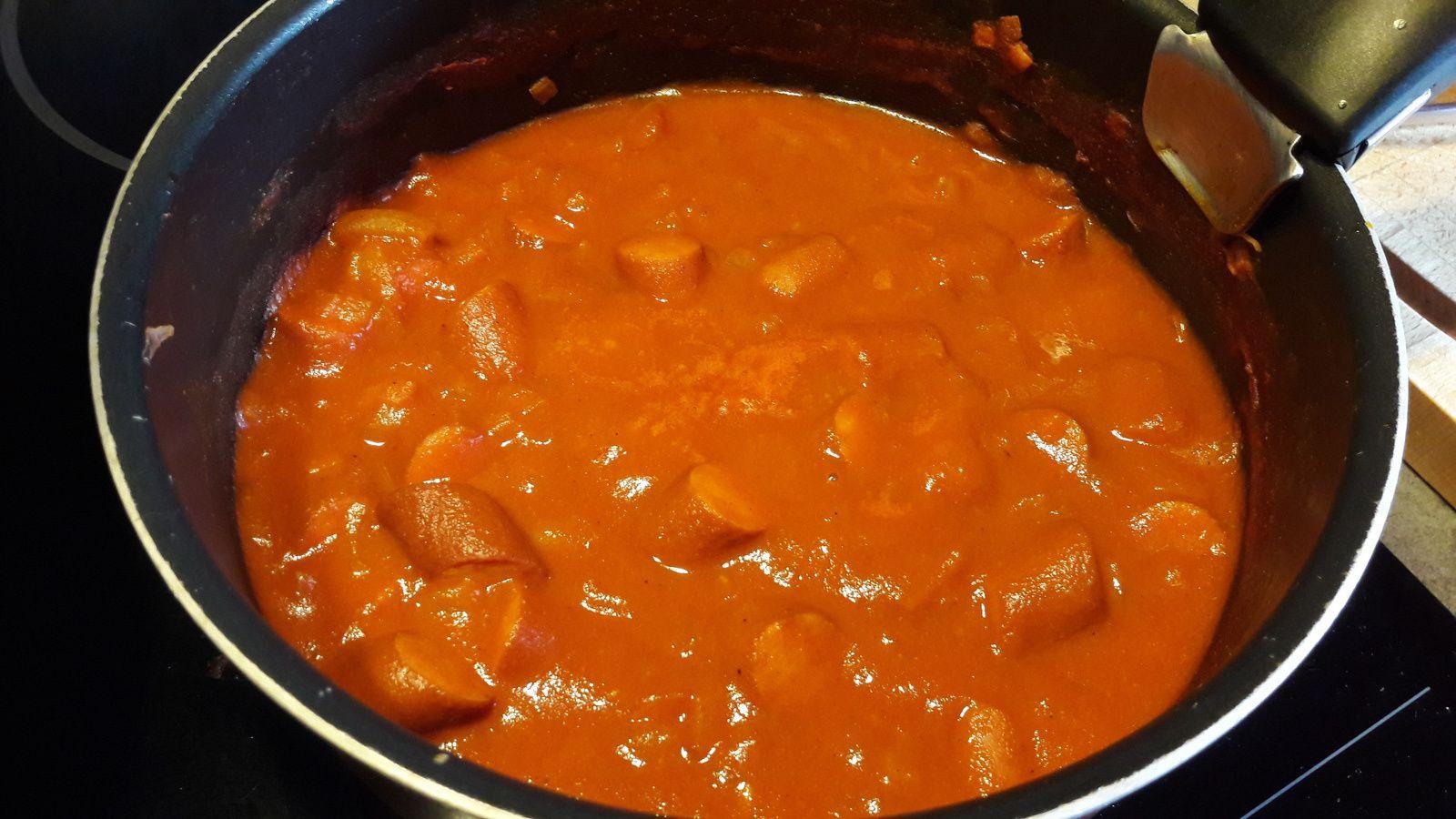 Cuisine Pas Cher En Allemagne currywurst ( allemagne) - eva dans ma cuisine