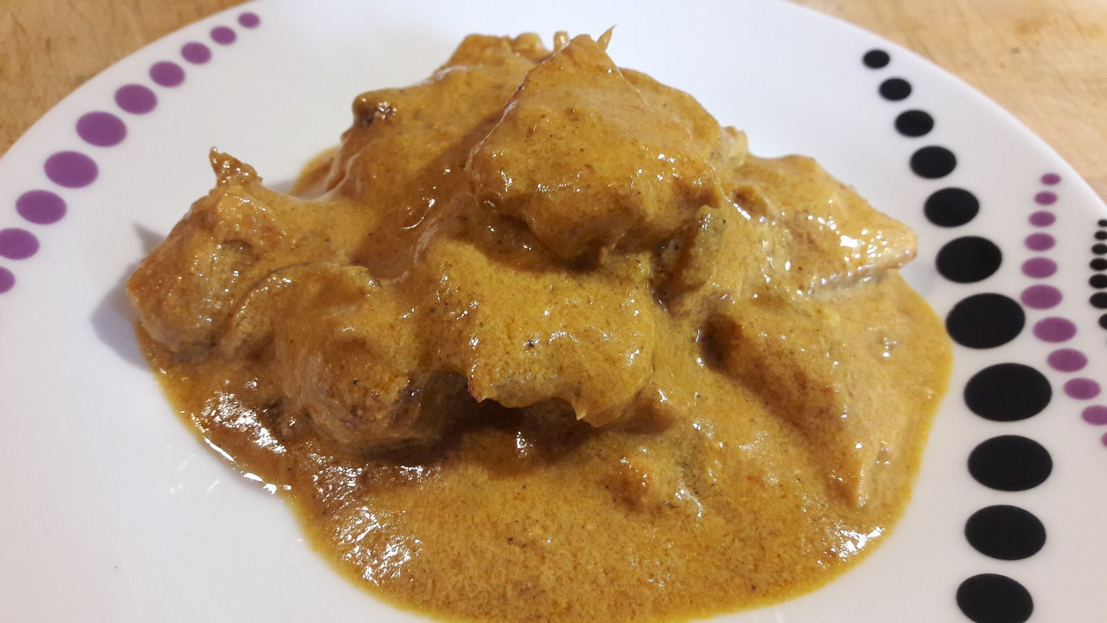 Poulet curry.coco