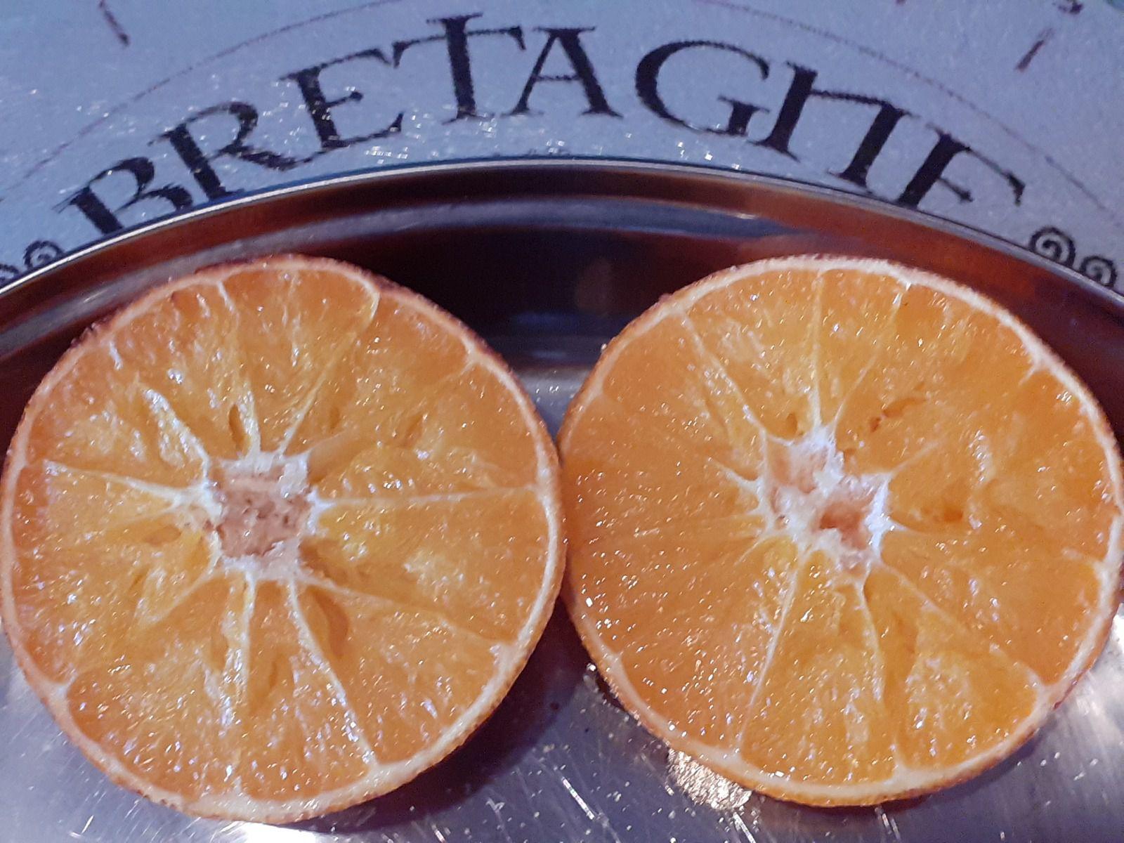Orange cuite
