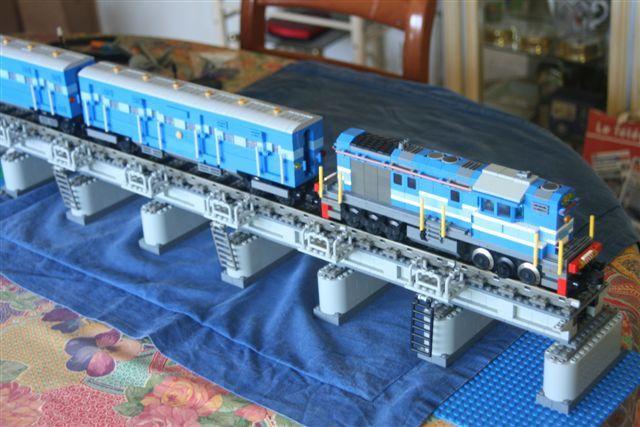 Pamban Bridge - Le train