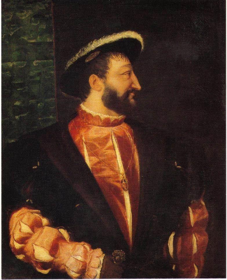 le roi de france peint par Titien