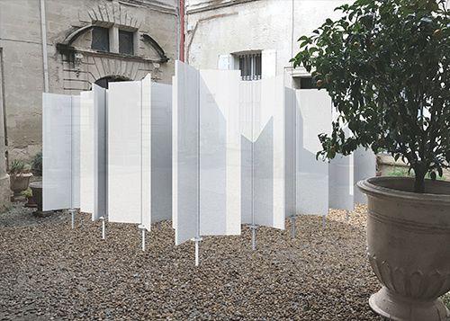 festival des architectures vives 2017 : des installations dans les cours des hotels (centre historique de montpellier)