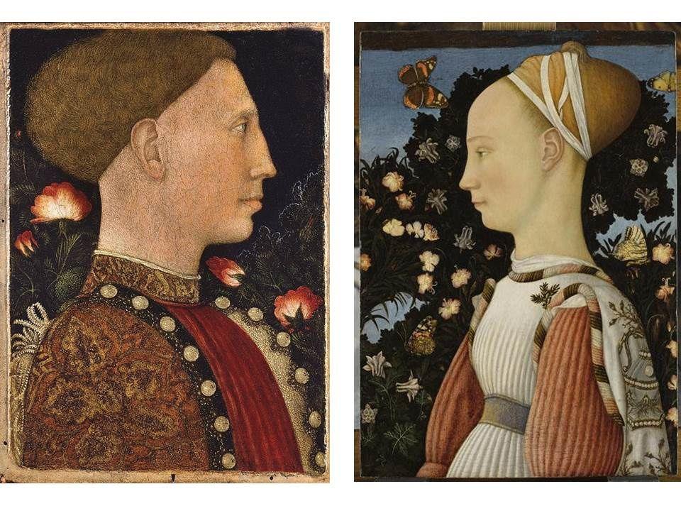 COURS DE JANVIER :portraits de la renaissance (quattrocento: XV siècle)